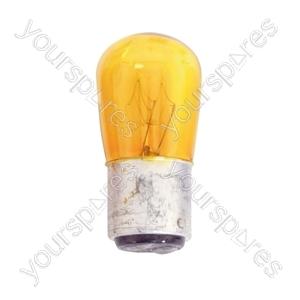 Coloured Pygmy Lamp BC 25W - Colour Yellow