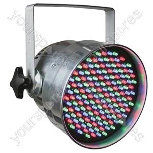 Par 56 Short Nose LED Can DMX - Colour Aluminium