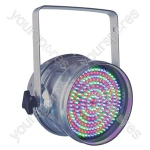 Par 64 Short Nose LED DMX Can - Colour Aluminium