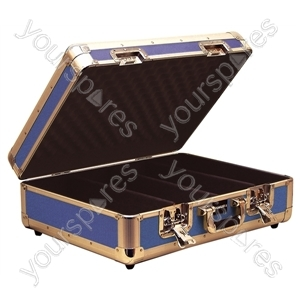 Euro Style CD Case Holds 150 CDs - Colour Blue