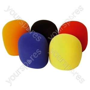 Foam Microphone Windshields 35mm 5 Pk