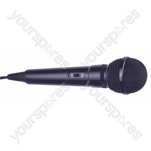 Dynamic Handheld Karaoke Microphone - Colour Black