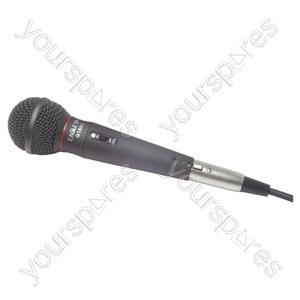 Soundlab UDM960 Dynamic Handheld Microphone 600 Ohm