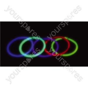 Glow Bracelet 200mm - Colour Red