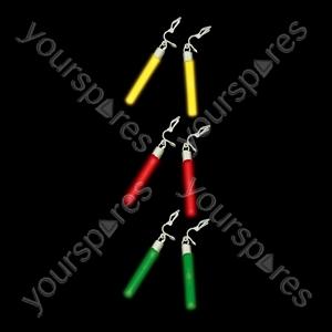Glow Earrings - Colour Yellow
