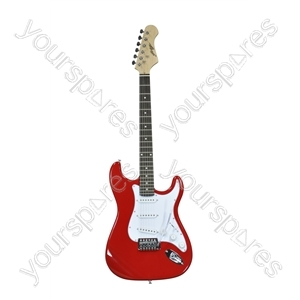 Johnny Brook Red Standard Electric Guitar
