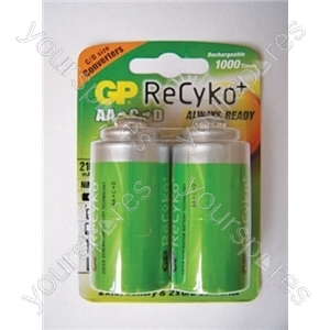 GP Batteries GP210AAHCBRBE-2EU2 C And D Sized Converters