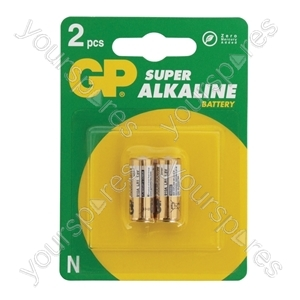 GP GP910A Super Alkaline LR1 (N Type) Batteries - Packing 2