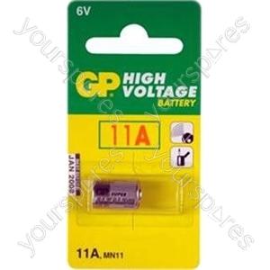 GP Batteries GP11A-C1 High Voltage Super Alkaline Battery (Card Of One)