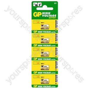 GP Batteries GP11A-C5 High Voltage Super Alkaline Battery (Strip Of Five)