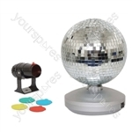 8 Inch  Mirror Ball Party Set