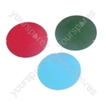50 mm Dichroic Filter for Par 16 Cans and Low Voltage Downlighters - Colour Blue
