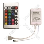 Eagle Infrared Remote Controller and Interface for RGB LED Tape Light