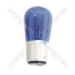 Coloured Pygmy Lamp BC 25W - Colour Blue