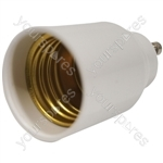 Electrovision Lampholder Adaptor - Converts From/To GU10 / E27