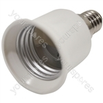 Electrovision Lampholder Adaptor - Converts From/To E14 / E27