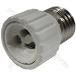 Electrovision Lampholder Adaptor - Converts From/To E27 / GU10
