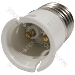 Electrovision Lampholder Adaptor - Converts From/To E27 / B22