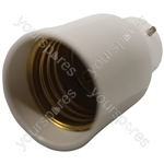 Electrovision Lampholder Adaptor - Converts From/To B22 / E27