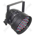Par 56 Short Nose LED Can DMX - Colour Black