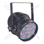 Par 64 Short Nose LED DMX Can - Colour Black
