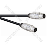 Professional 6.35 mm Jack Plug to Jack Plug Speaker Lead with Neutrik Connectors and 2x 1.5mm Highflex Cable - Lead Length (m) 20