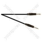Professional 6.35 mm Mono Jack Plug to 6.35 mm Mono Jack Plug Speaker Lead With Neutrik Jacks and 2x 1.5mm Highflex Cable - Lead Length (m) 6