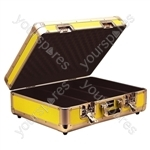 Euro Style CD Case Holds 150 CDs - Colour Yellow