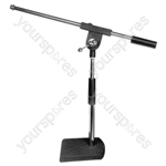 Desk Microphone Stand With Boom Arm
