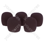 Foam Microphone Windshield 22mm Pk of 5