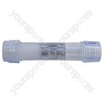 Eagle Straight Coupler for use with the LED Rope Light
