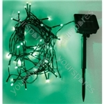 Eagle LED Solar Powered Outdoor String Lights 500 LED's 50M Length - Colour Green
