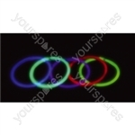 Glow Bracelet 200mm - Colour Red
