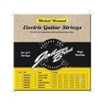 Johnny Brook Nickel Wound Electric Guitar Strings Set of 6 - Gauge Light