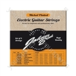 Johnny Brook Nickel Plated Steel Electric Guitar Strings Set of 6 - Gauge Regular/Heavy