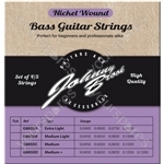Johnny Brook Nickel Wound Bass Guitar Strings Set of 4 - Gauge Extra Light