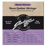 Johnny Brook Nickel Wound Bass Guitar Strings Set of 4 - Gauge Medium Light