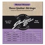 Johnny Brook Nickel Wound Bass Guitar Strings Set of 4 - Gauge Medium