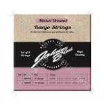 Set of 5 High Quality Nickel Wound Banjo Strings  - Gauge .010/.012/.014/.022w/.010