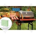 St Helens Home and Garden water resistant Drum BBQ Cover