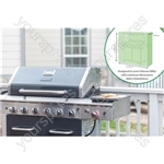St Helens Home and Garden Water Resistant 6 Burner BBQ Cover