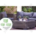 St Helens Home and Garden Water Resistant 3 piece Large Corner Seat Cover
