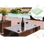 St Helens Home and Garden Water Resistant Large Garden Set Cover - Will Cover7 Pieces