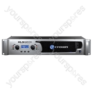 Crown XLS DriveCore Stereo Slave Amplifiers - Power RMS (W) @ 8 Ohms 2x440