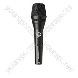AKG P3S Dynamic Cardoid Handheld Microphone 600 Ohm