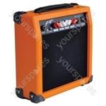 Johnny Brook 20W Guitar Amplifier - Colour Orange
