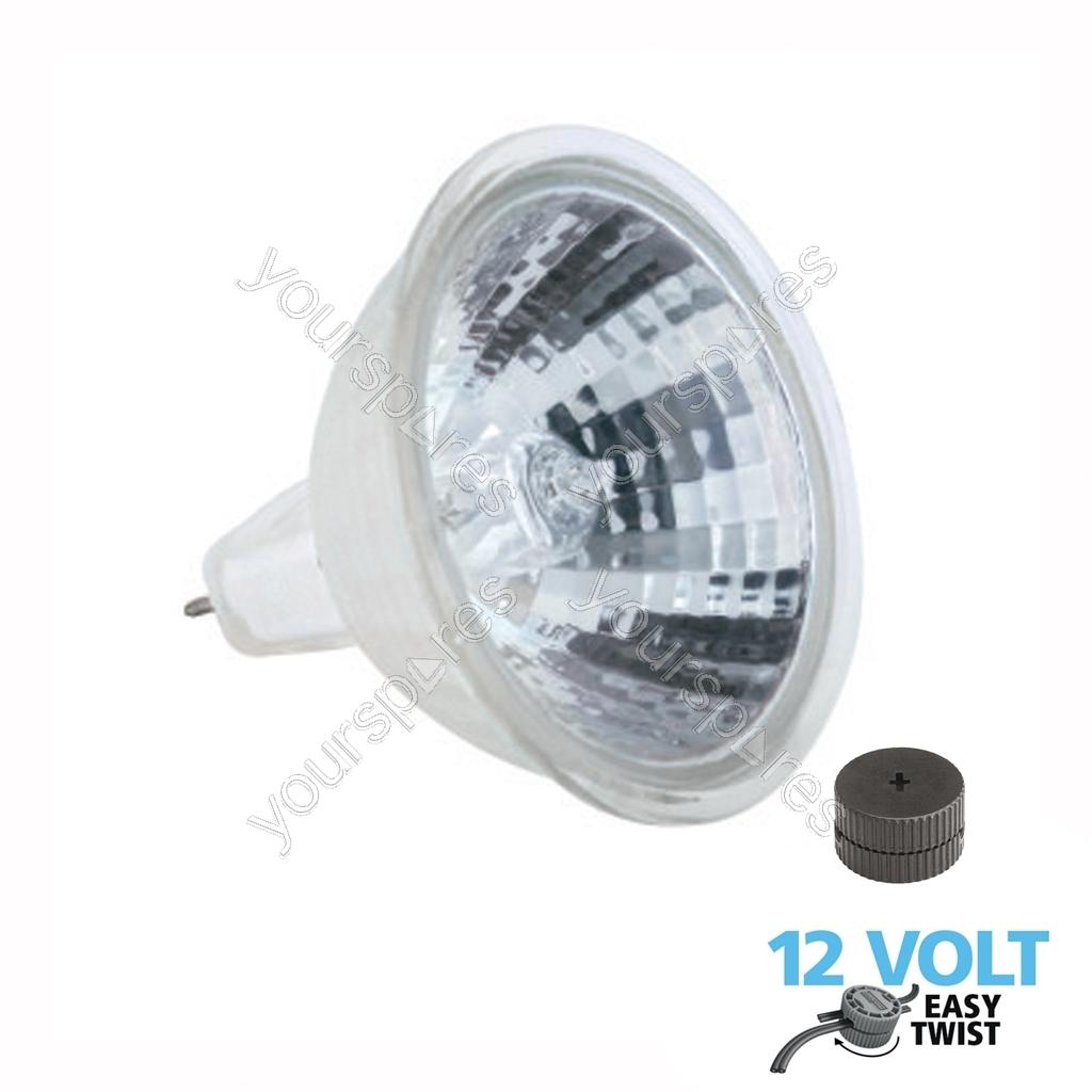 Mr16 Led Downlights Uk: Luxform Lighting 50W MR16 Halogen Reflector Lamp LF0493 By
