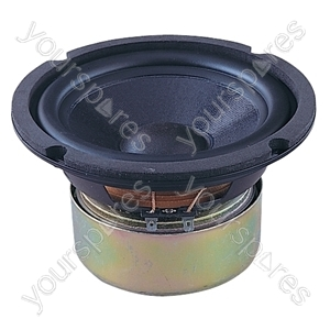 166 mm 50 W Bass Shielded Speaker (8 Ohm)