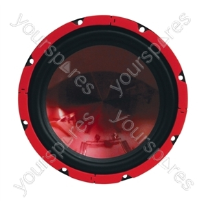 """SoundLAB Red 15"""" Chassis Speaker 350W 4Ohm"""