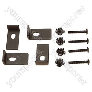 Speaker Clamp Kit Set of 4